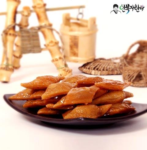 [안복자한과] 우리밀약과(벌크포장) 1kg