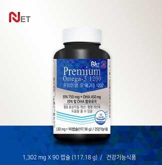 NET 프리미엄 오메가3 1200, 3개월분 (캐나다 직수입 완제품)