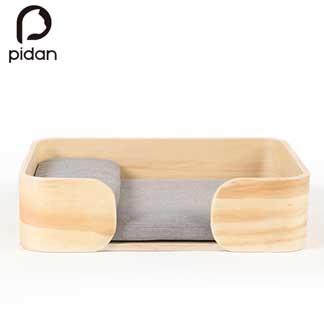 피단스튜디오 애완 원목 침대 (직사각형)