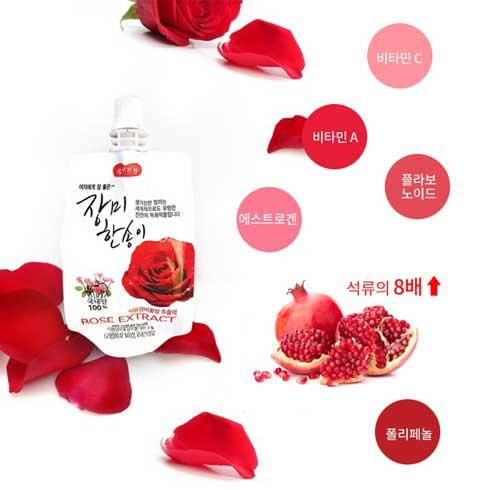 유기농 장미한송이 음료 80mlX30봉입