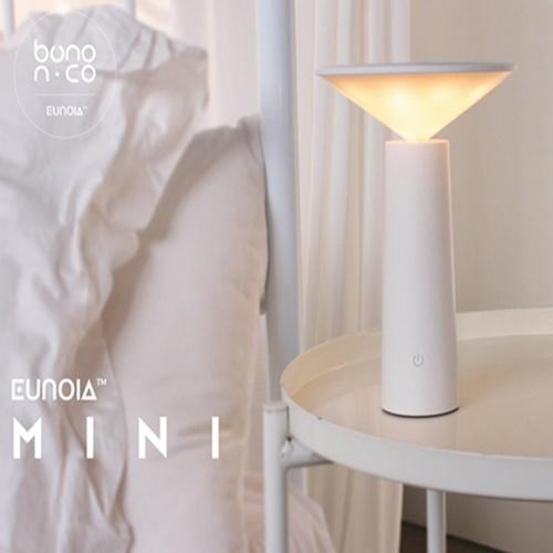 [보노앤코] 모던 수면 LED 무드등 유오이아미니 BNC- SL30DNN (블랙/화이트, 택1)